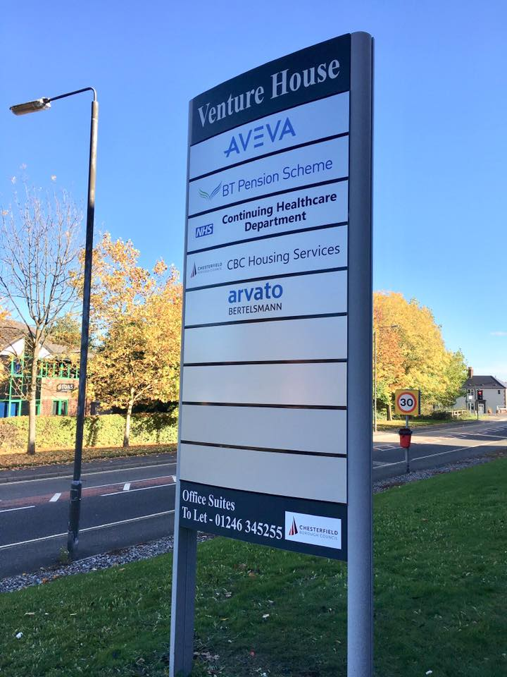 Venture House Main Sign