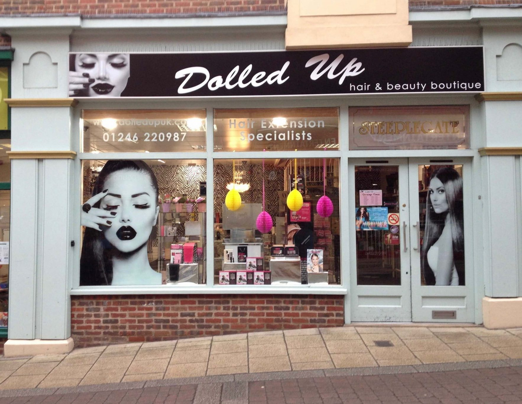 Dolled Up Hair & Beauty Boutique