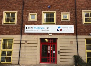 Elliot Mather Tray Sign