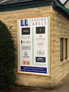 Leading Labels frame